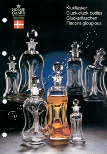 Holmegaard Glasværk katalog april, 1990